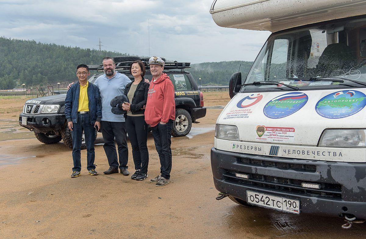 Участники автопробега «Россия-Япония» сделали остановку в Улан-Удэ
