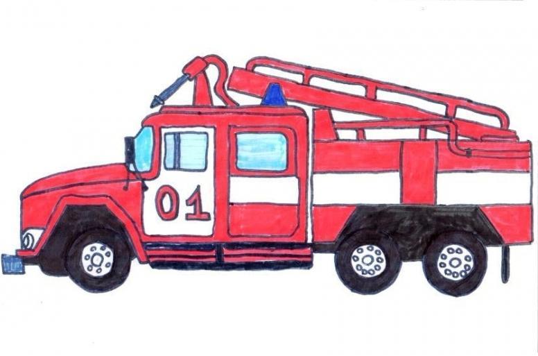 всем картинки рисунков пожарных машин размещаются гости