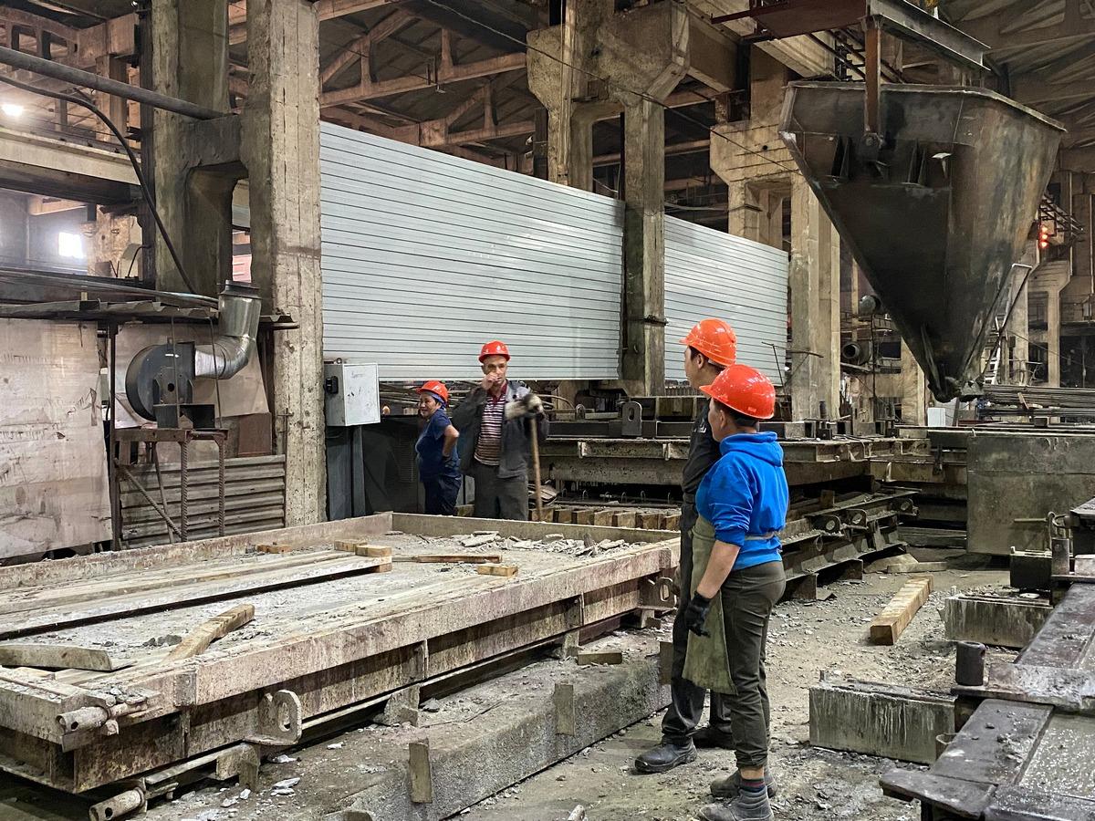 Мини-завод по производству бетона открыли в Улан-Удэ