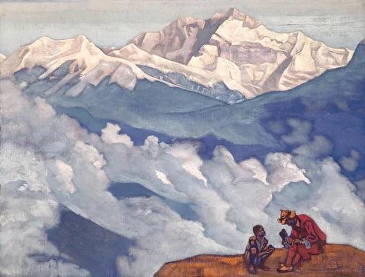 В Улан-Удэ вчера открылась выставка с копиями работ из Музея Рериха