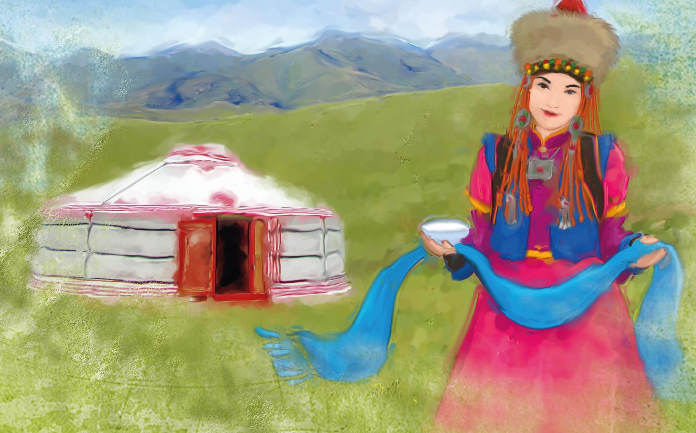 Годовщину свадьбы, монгольские открытки с добрым утром