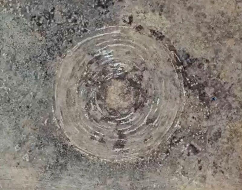 Учёный раскрыл происхождение странных кругов на поле в Бурятии