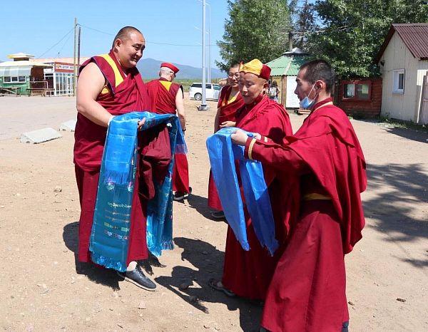 В Бурятию приехал первый в России Лхарамба лама