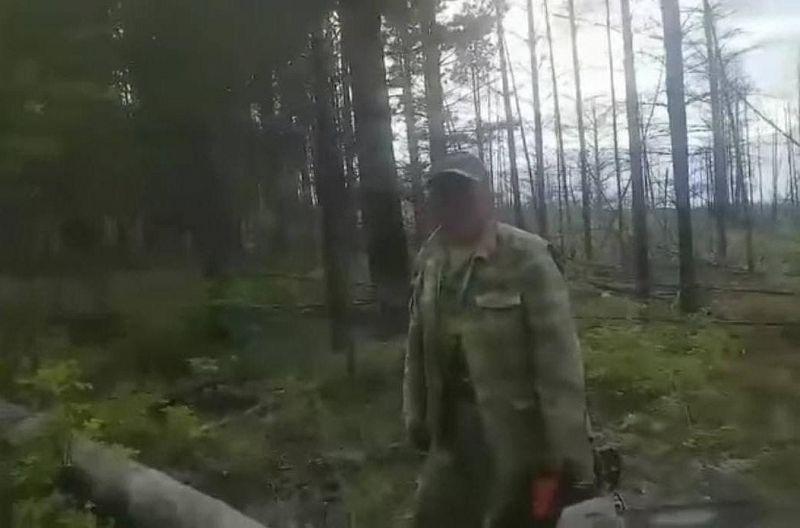 В Бурятии главный лесничий попался на рубке древесины