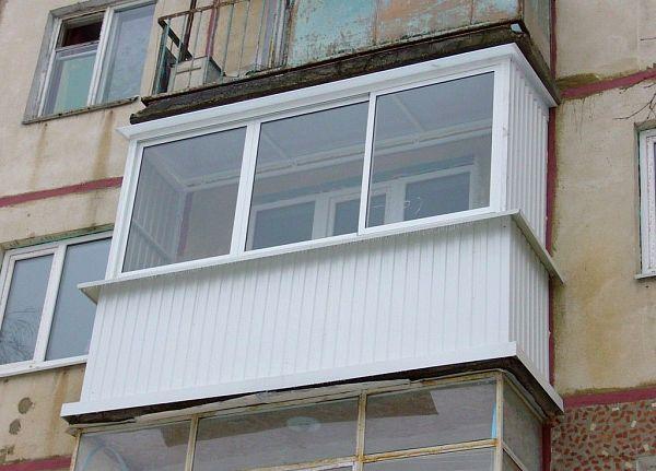 Переоборудование остекление балкона герметизация остекления балкона