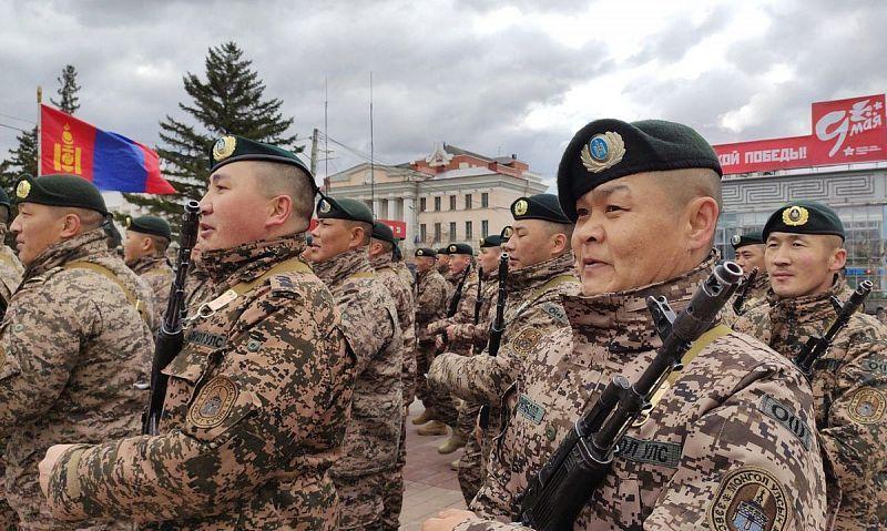 В параде Победы в Улан-Удэ впервые примут участие военнослужащие Монголии